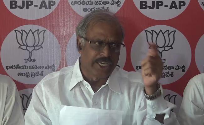 BJP Leaders Respond On Chandrababu Naidu Comments - Sakshi