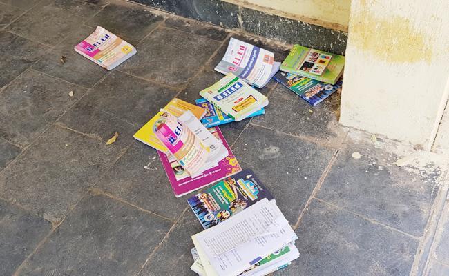 Mass Copying In D Ed Exams YSR Kadapa - Sakshi