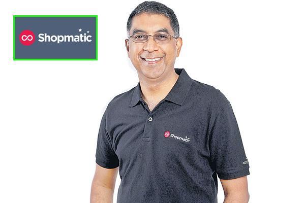 New startup shopmatic - Sakshi