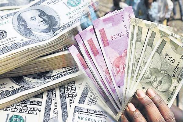 rupee value decline - Sakshi