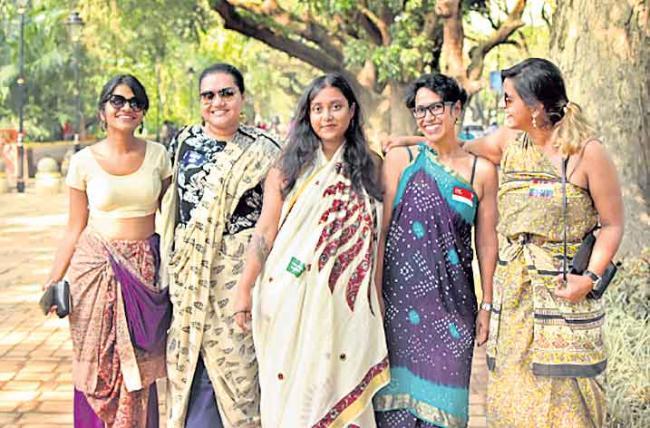 special  story to  saree  - Sakshi