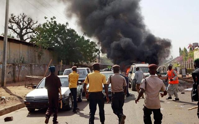 27 killed in twin blasts in Nigeria  - Sakshi