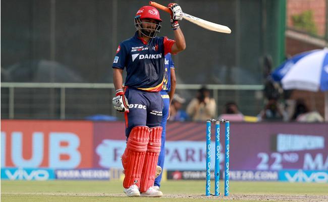 Rishab Pant Most runs in An IPL Season by a Wicket Keeper  - Sakshi