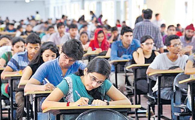 Today JEE Advanced 2018 exam - Sakshi
