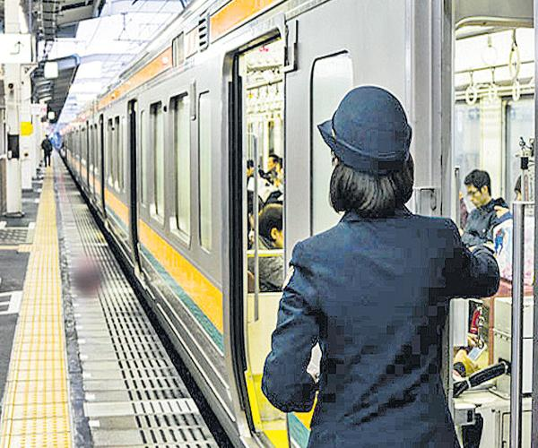 Japanese train departs 25 seconds early - Sakshi