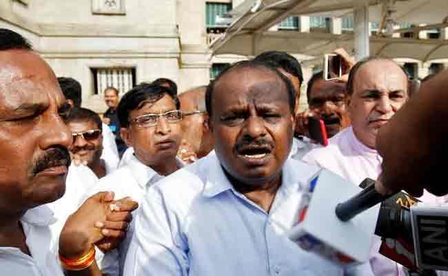 Kumaraswamy Comments on Anti BJP Alliance - Sakshi