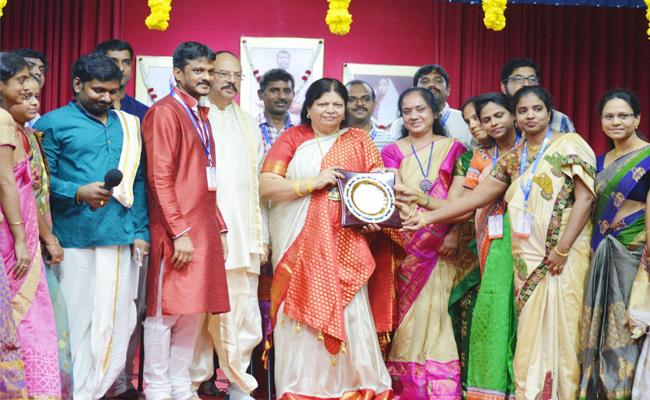 Tallapaka Annamacharya Birth Anniversary held in Singapore - Sakshi