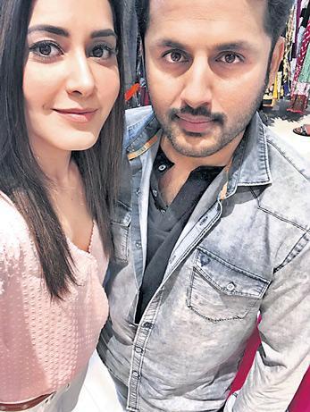 Srinivasa Kalyanam Shooting Begins Hero Nithin, Heroin Raashi khanna - Sakshi