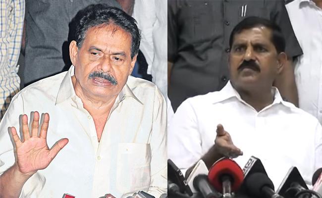 EX MLA Veera Siva Reddy Fires On Minister Adinarayana Reddy - Sakshi