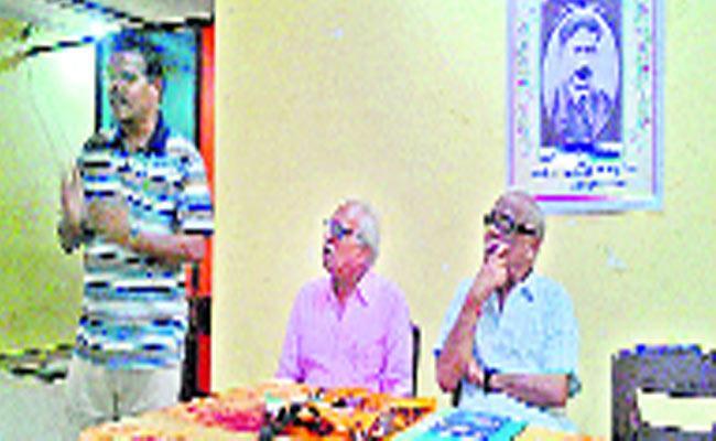 The Telugu Cartoon Was Born In Jayapuram - Sakshi