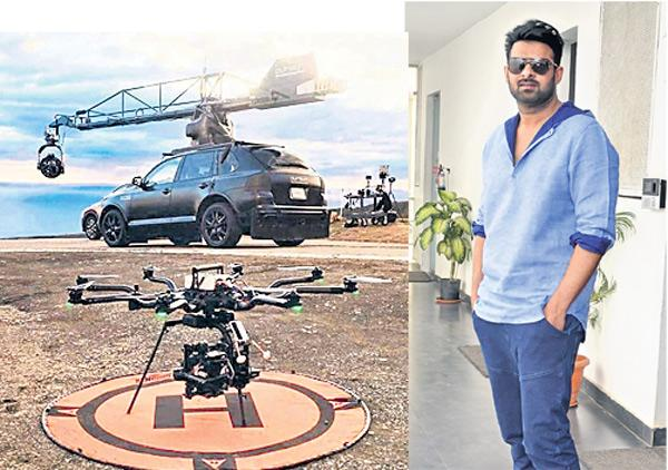 37 Cars Crashed for the Shooting of Saaho - Sakshi