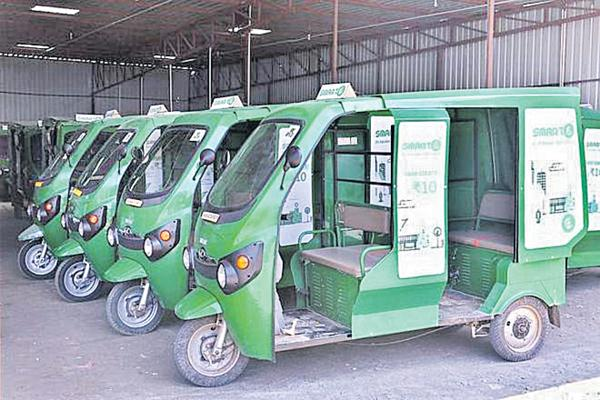 Police Department says no to Battery Autos - Sakshi