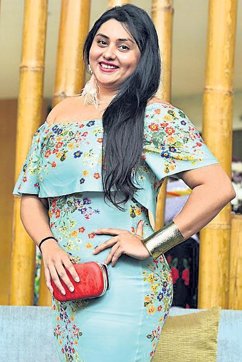 Namitha Turns Villain roles? - Sakshi