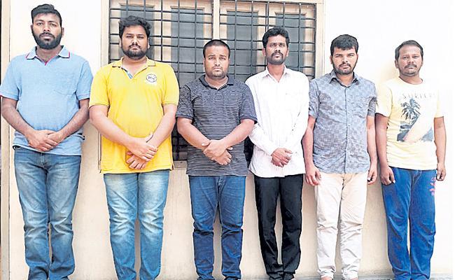 Fake Job Agency Gang Arrested By Central Task Force At Hyderabad - Sakshi