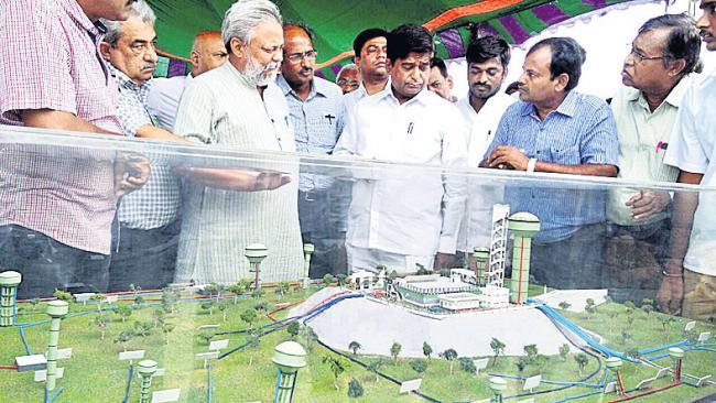 Rajendra Singh visits Kaleshwaram project - Sakshi
