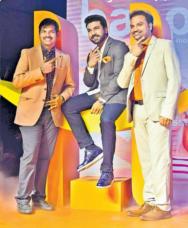 Ram Charan roped in as brand ambassador for Happi Mobiles - Sakshi