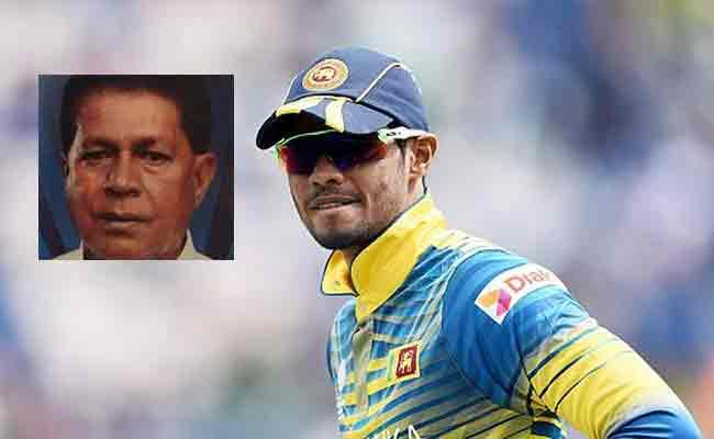 Sri Lankan Dhananjaya Father Shot Dead - Sakshi