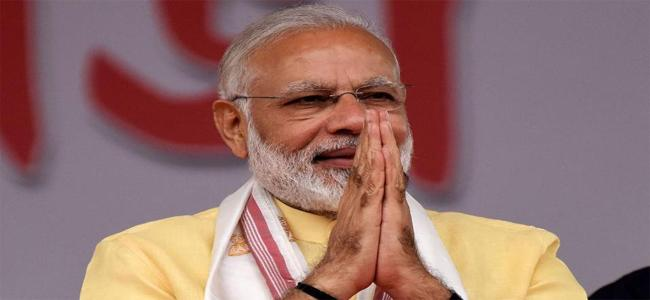 PM Modi In Cuttack Says Clarity Is Ruling India Now With Commitment - Sakshi