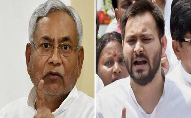 Nitish Kumar  Face Challenge From Tejashwi  For Jokihat Bypoll - Sakshi