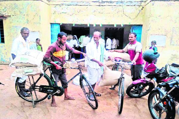 Subsidy seeds in online - Sakshi