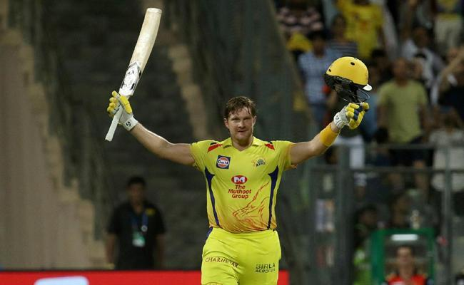 Watson become First Player to get Century in Chasings of IPL finals - Sakshi