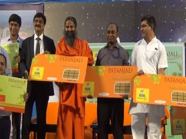 Patanjali Ties Up With BSNL, Launches SIM Cards - Sakshi