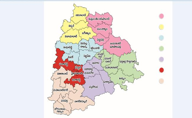 Cabinet Has Approved 7 New Zones, CM KCR leaves for Delhi - Sakshi