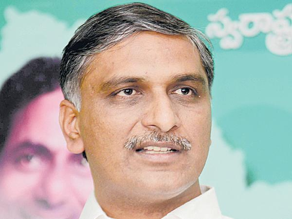 Minister Harish Rao comments on Congress - Sakshi