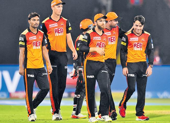 Sunrisers Hyderabad Overall Performance In IPL 2018 - Sakshi