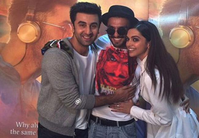 Deepika Looks More Beautiful With Ranveer Than Ranbir - Sakshi
