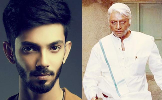 Anirudh To Score Music For Indian 2 - Sakshi