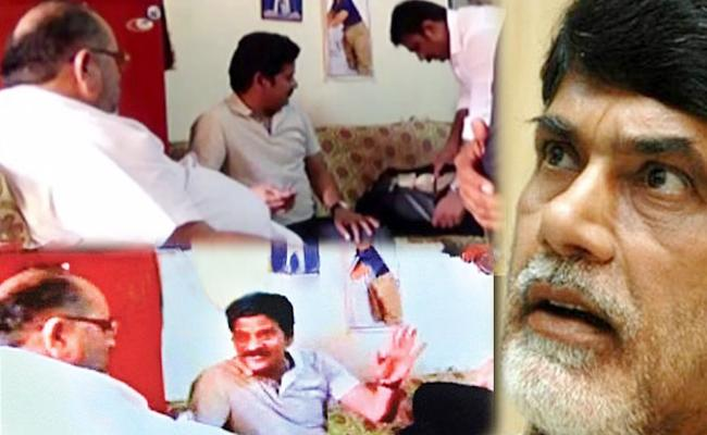 Chandrababu Naidu Plays Key Role In Cash For Vote Case - Sakshi