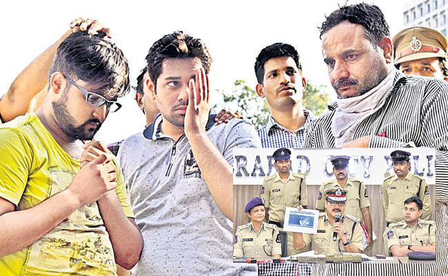Hyderabad Police Arrested Fake Job Employers Delhi Based Gang - Sakshi