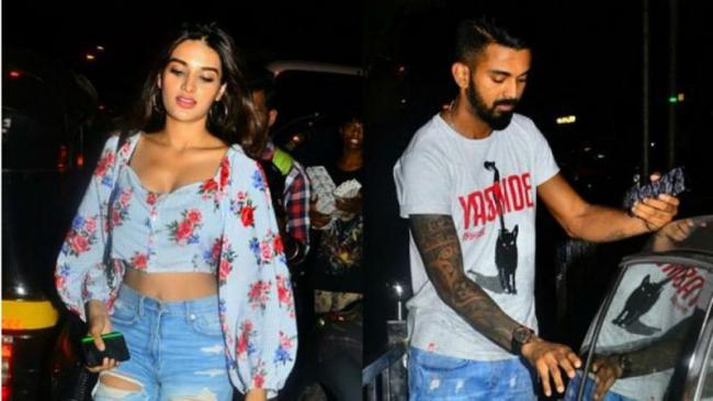 KL Rahul And Nidhhi Agerwal Photos Goes Viral - Sakshi