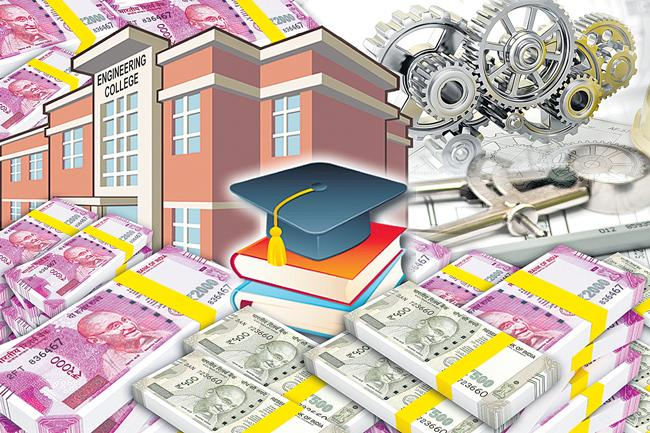 Seats Filling Scam in Hyderabad Engineering Colleges - Sakshi
