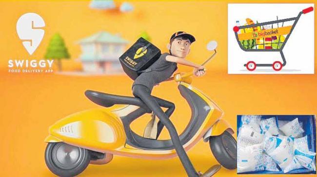 Swiggy, BigBasket eyeing purchase of milk delivery startups - Sakshi