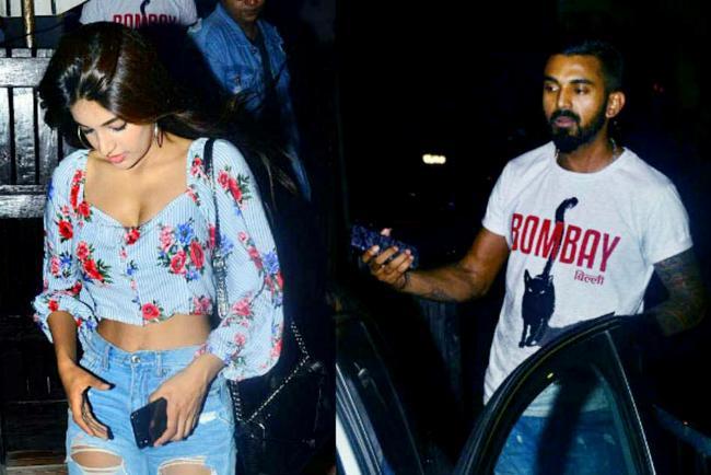 Nidhi Agarwal Reacts On Dating with Cricketer KL Rahul - Sakshi