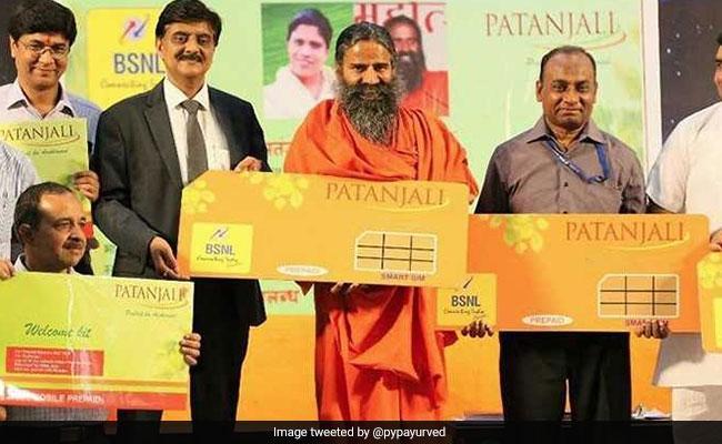 BSNL, Patanjali Preapaid SIM Card Plan Details - Sakshi