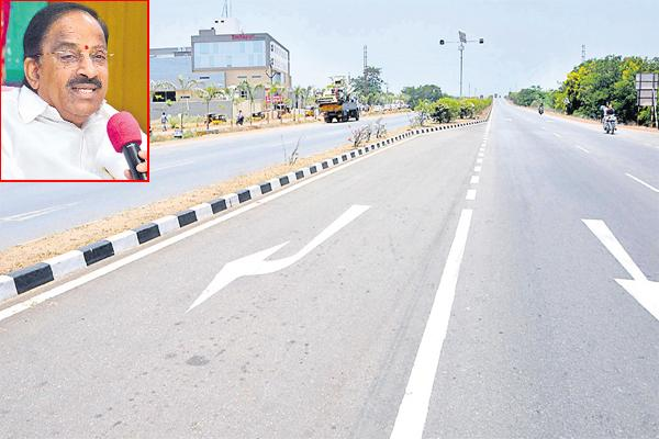 3,155 kms Roads in four years  - Sakshi