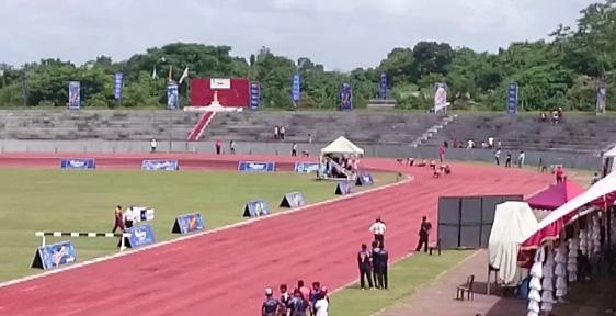 India win 11 gold on opening day of South Asian Junior Athletics - Sakshi