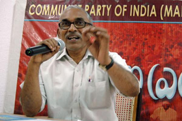 CPM Leader BV Raghavulu Addressed Karl Marx Birth Ceremony - Sakshi