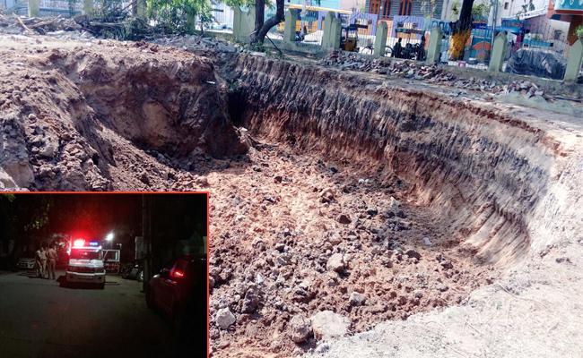 Water Tank Construction In Park Proddatur - Sakshi
