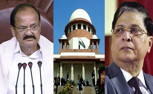 Congress Approached Supreme Court Over CJI Impeachment Motion - Sakshi