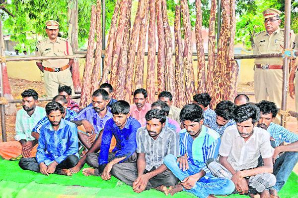 17 Tamil smugglers arrested - Sakshi