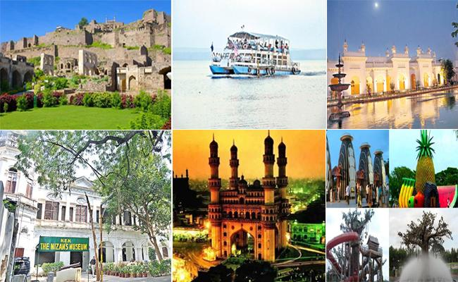 Hyderabad Is Best Tourist Place - Sakshi
