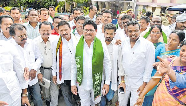 Telangana Adivasis Serve Notice On Self Rule - Sakshi