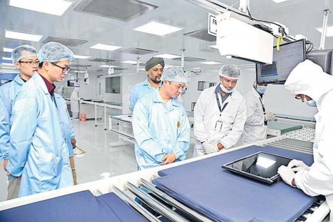 Skyquad Electronics ties up with China Skyworth - Sakshi