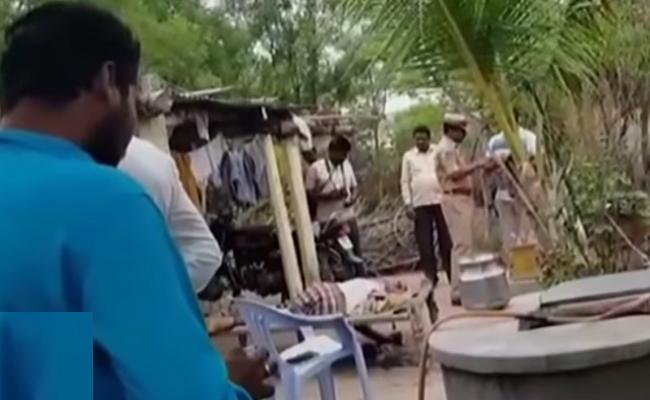 Father Kills his Son in Jagtial - Sakshi