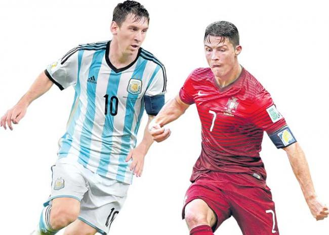 fifa world cup 2018:Messi and Ronaldo are the last chance - Sakshi