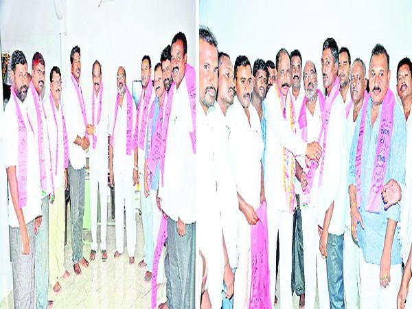 Congress Leaders Join In TRS Nalgonda - Sakshi